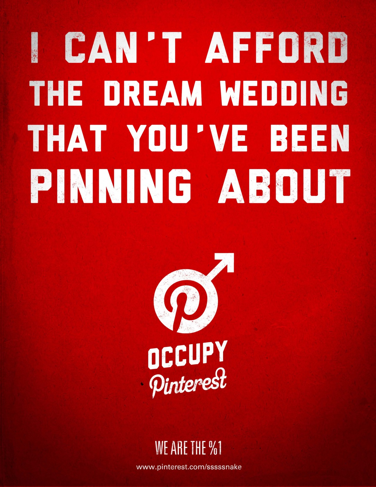 I am the %1 Occupy Pinterest