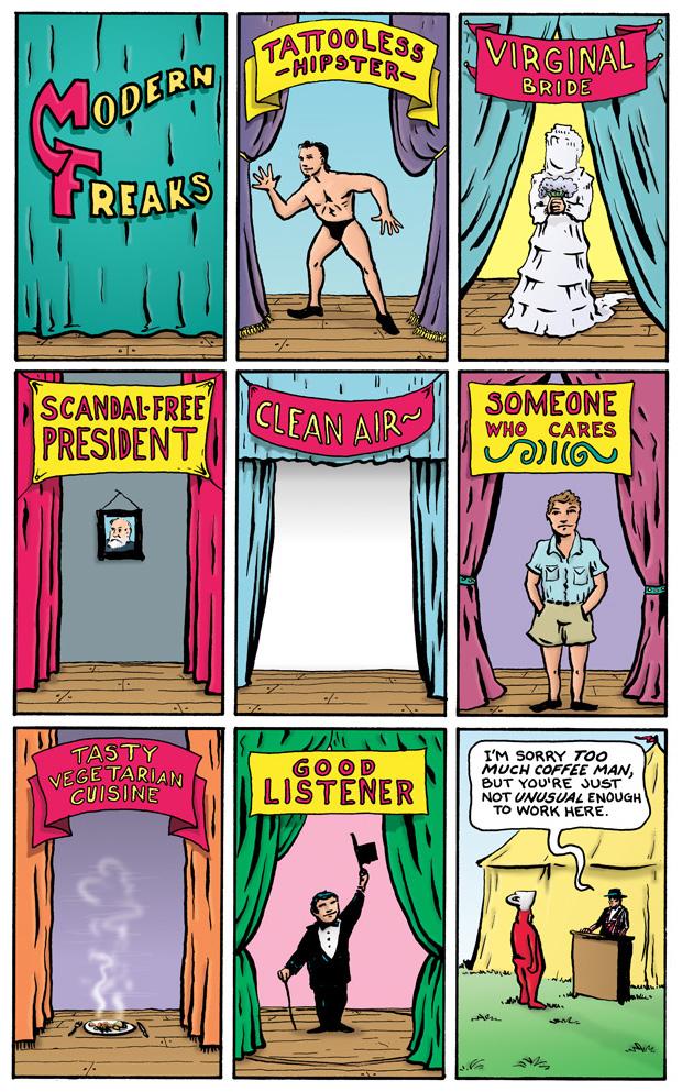 nevver: Modern Freaks