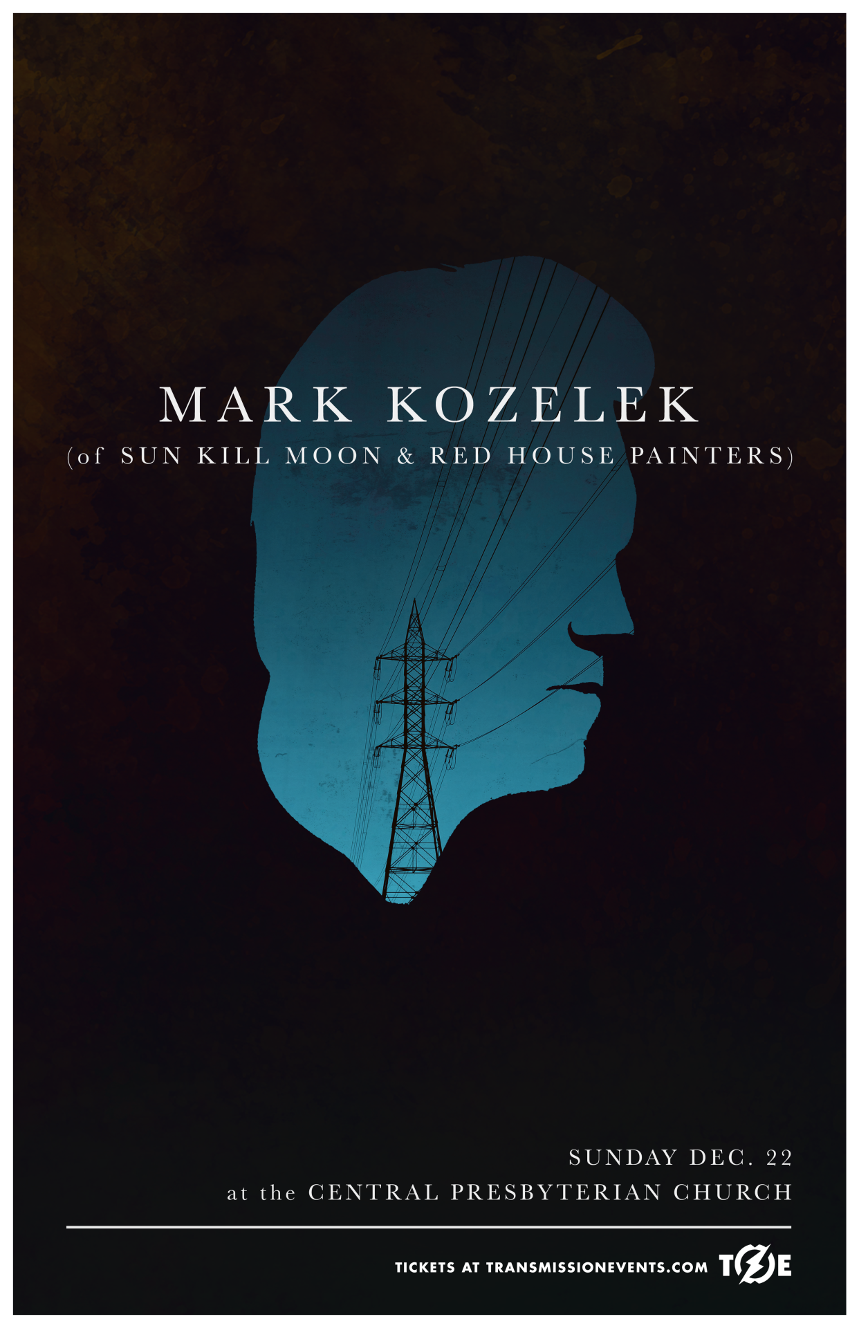 Latest poster for Mark Kozelek