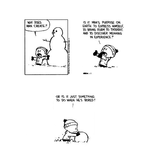 nevver :      Calvin and Hobbes