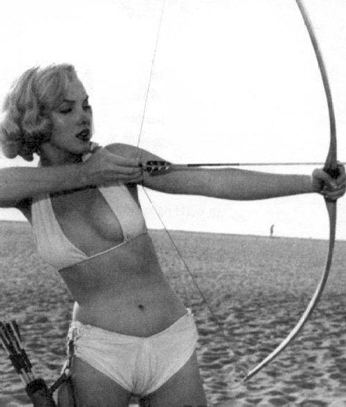Marilyn (via  If Charlie Parker Was a Gunslinger,There'd Be a Whole Lot of Dead Copycats )