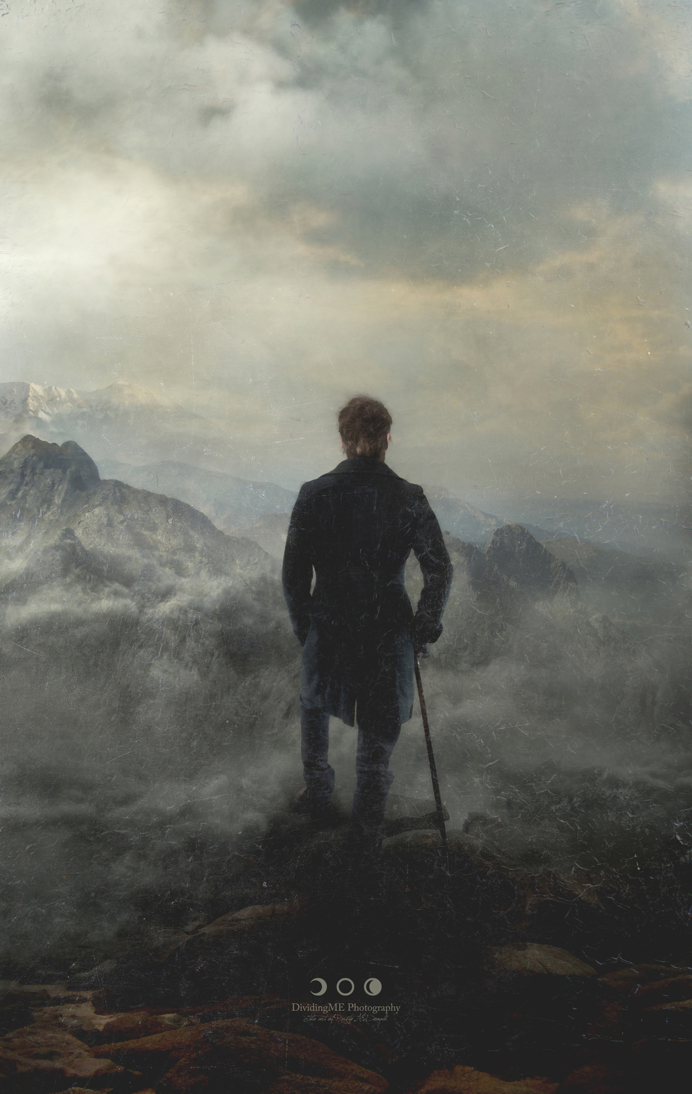 "Caspar Friedrich's ""Wanderer above the Sea of Fog"""
