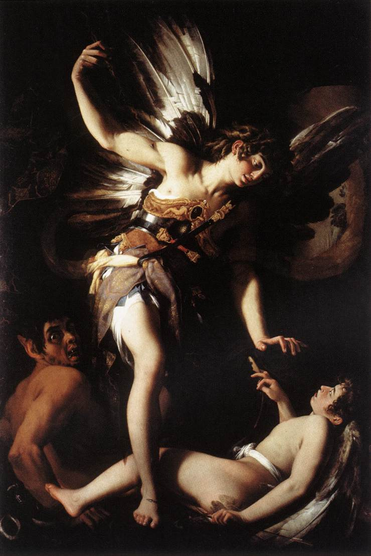 "Example ~ Giovanni Baglione ""Sacred and profane love"""