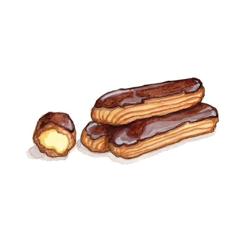 E for Eclairs