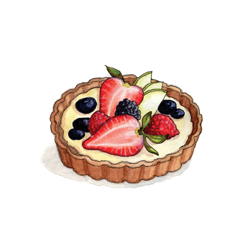 F for Fruit Tart