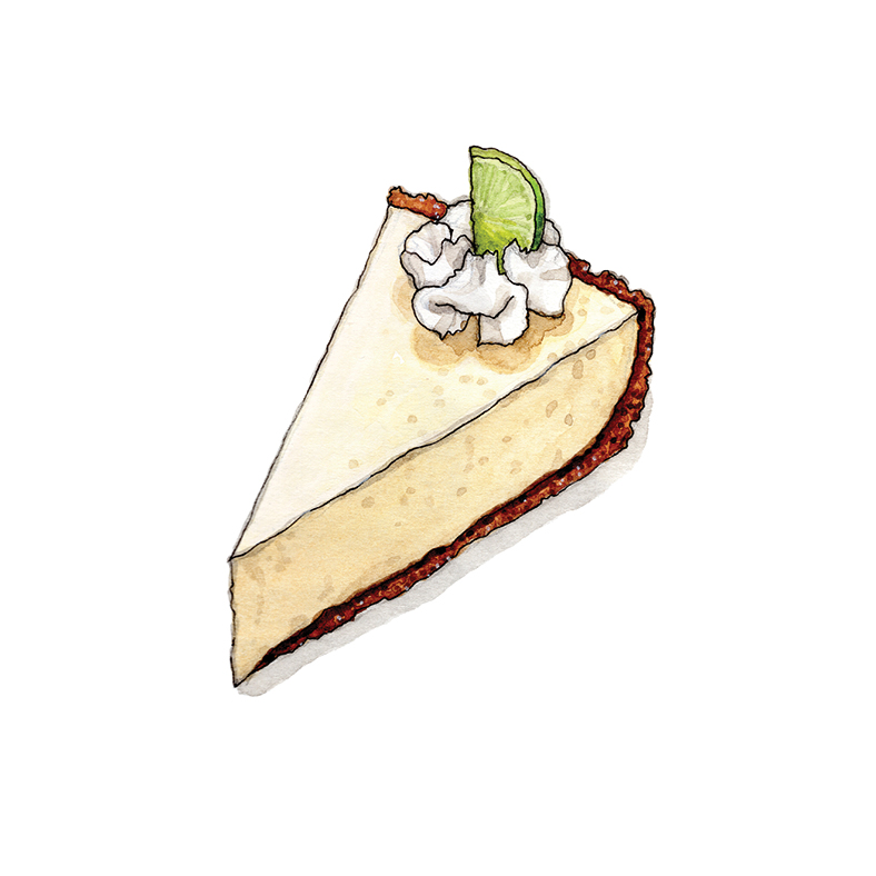 K for Key Lime Pie