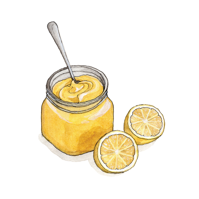 L for Lemon Curd