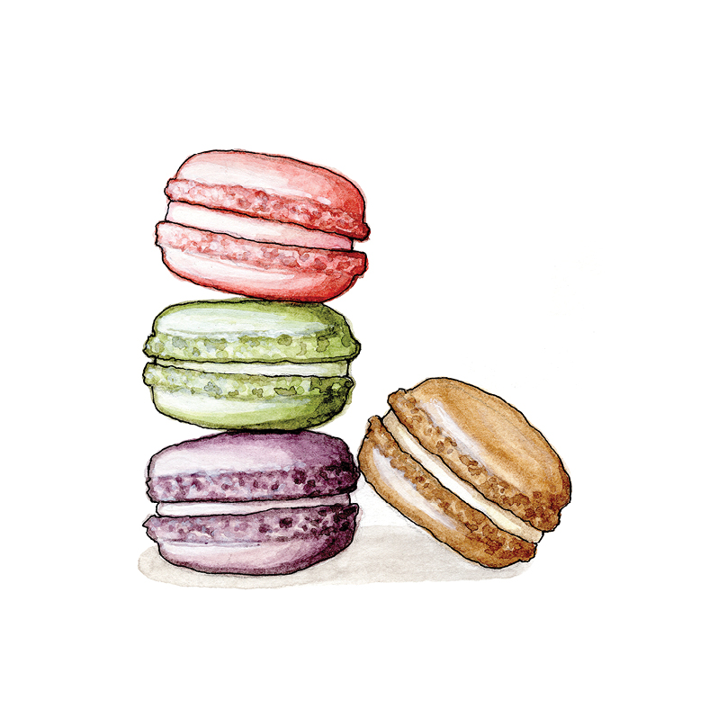 M for Macarons