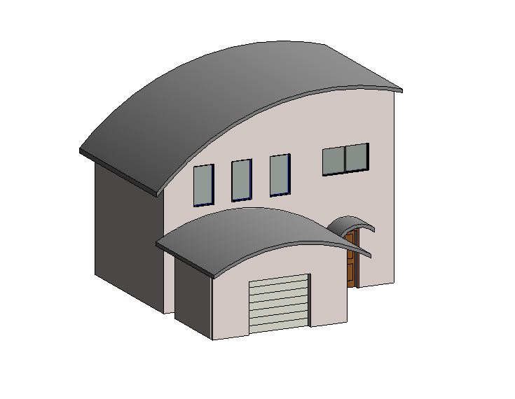 Curved roofs designs spectacular curved metal roof for Curved roof house designs