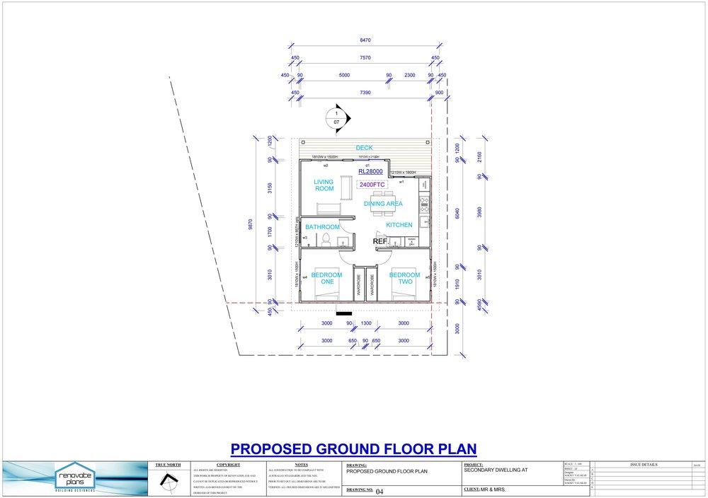 Granny Flat Plans