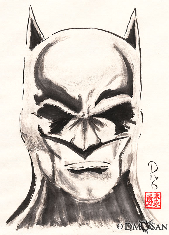Portrait of the Dark Knight