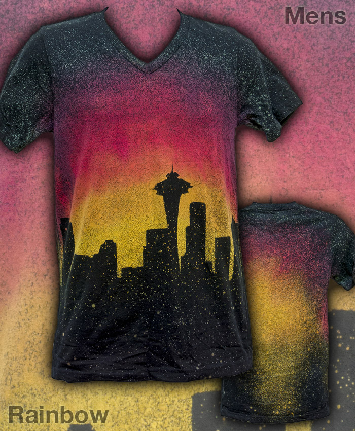 Seattle Skyline Mens