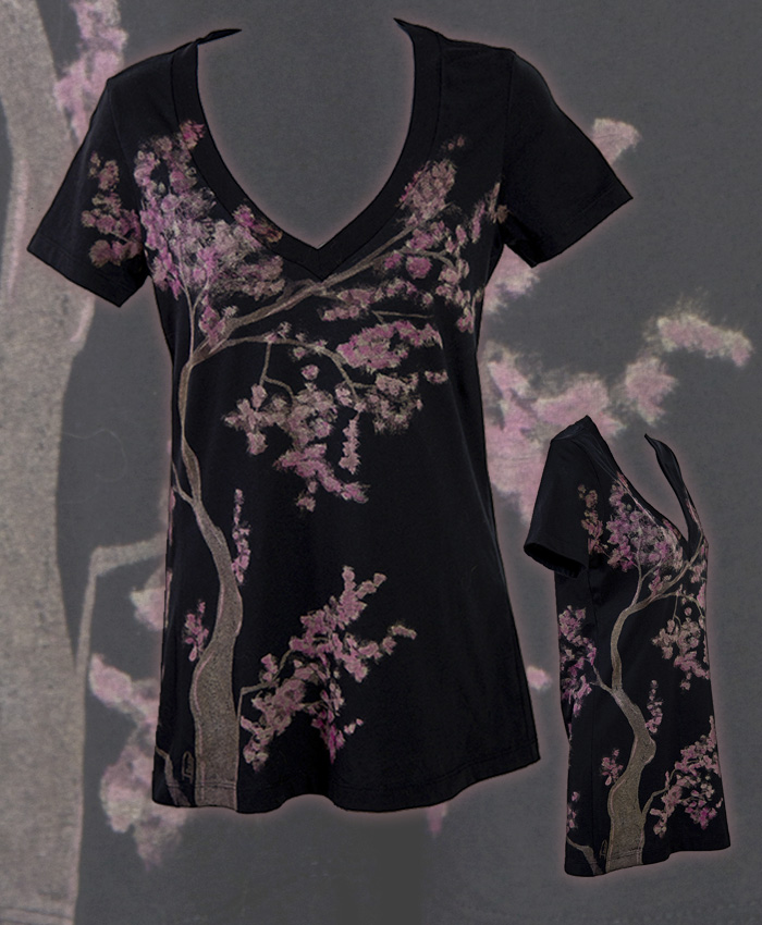 Cherry Blossoms Womens