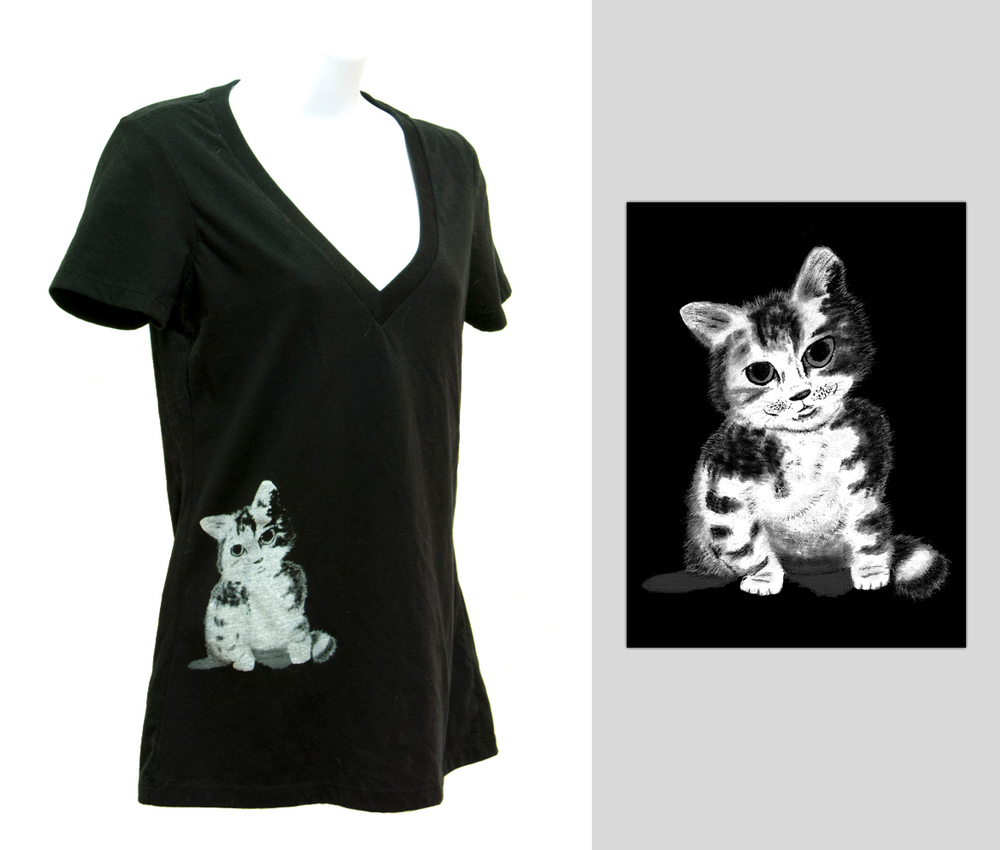 Sitting Kitty Womens