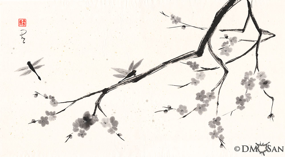 Plum Blossoms #2