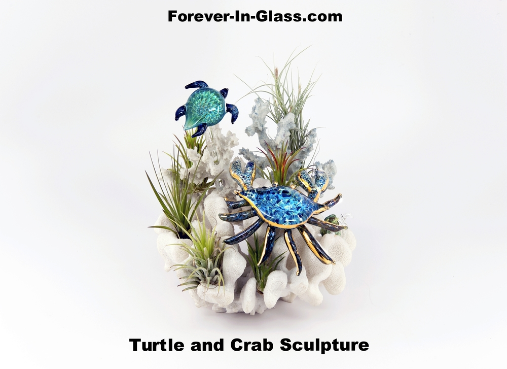 crab and turtle over coral.jpg