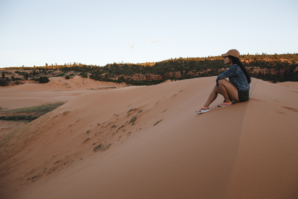 Pink Coral Sand Dunes State Park, Utah. Photo by Thosh.