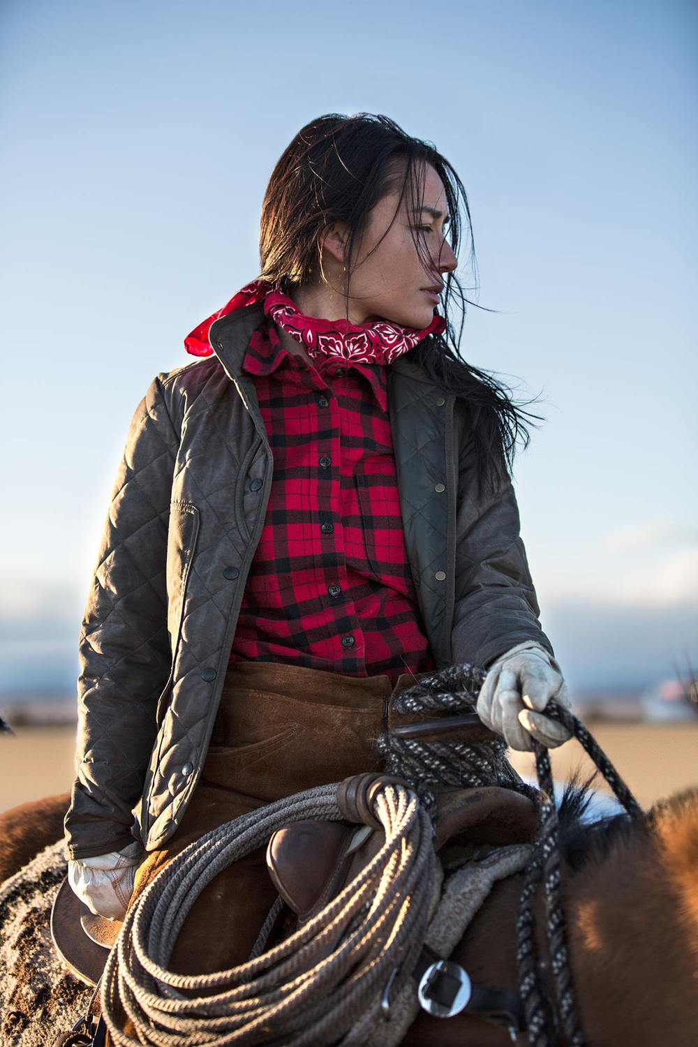 Channeling my roots as I modeled for Filson clothing a few months ago.