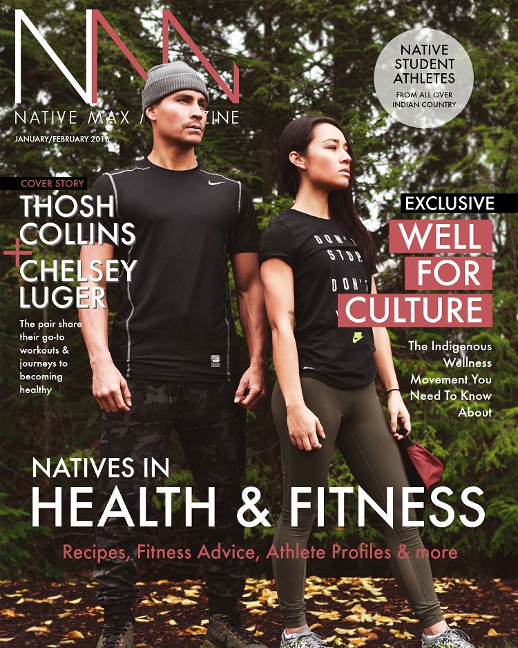 Well For Culture co-founders, THOSH and ME, featured in  Native Max Magazine , 2015.