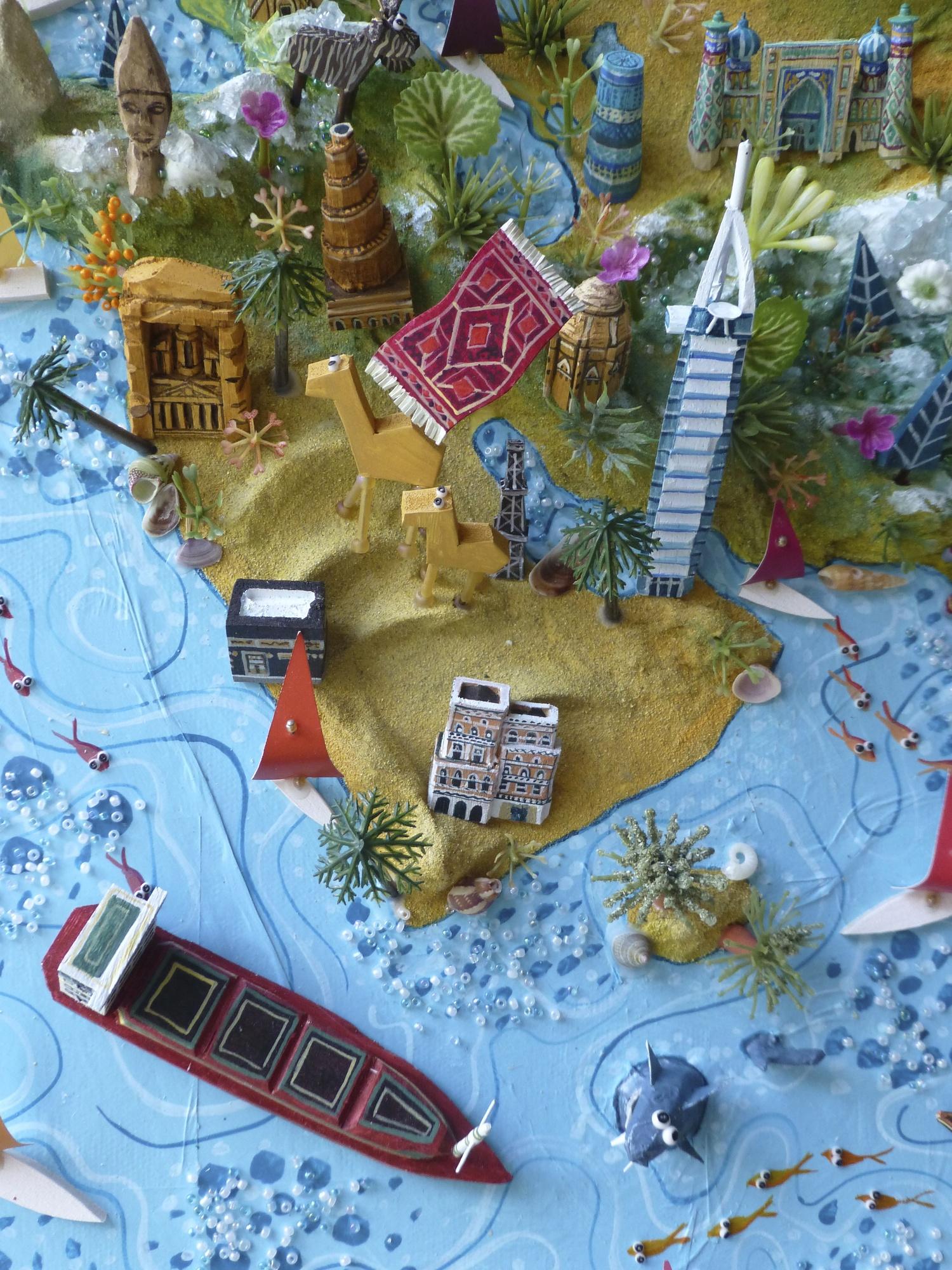 Multi panel world map sara drake gumiabroncs Gallery