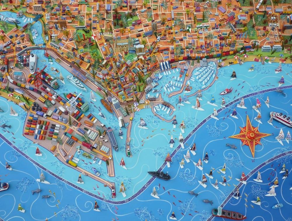 Fremantle Map Sara Drake