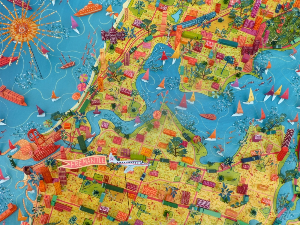Perth Map Day Sara Drake