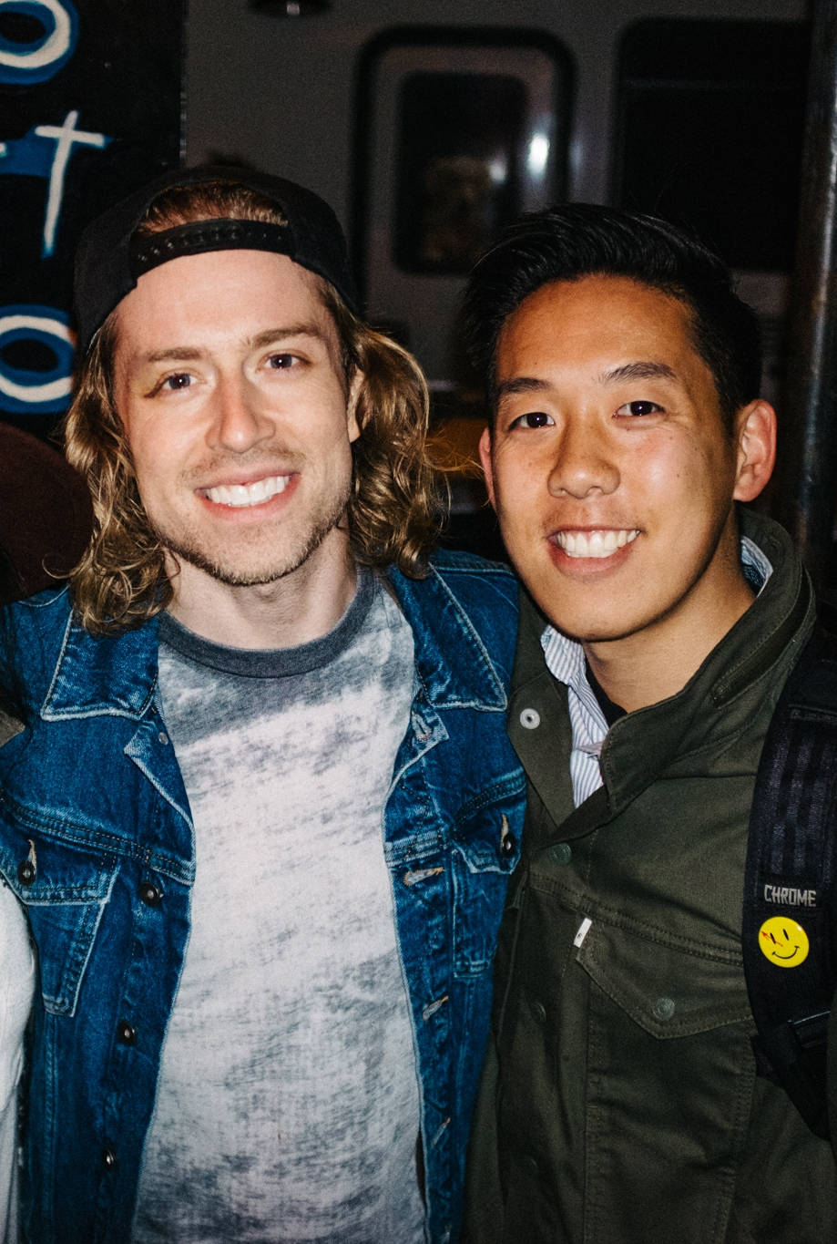 With Bryce Avary