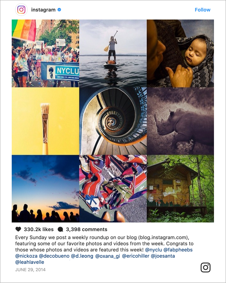 Instagram - This week on Instagram 137