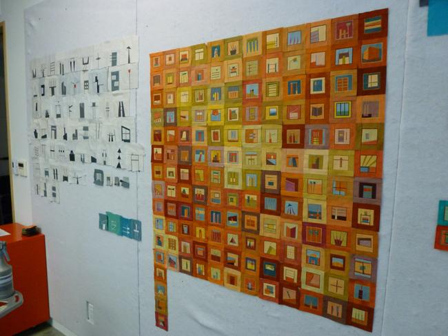 Erin's Design Wall