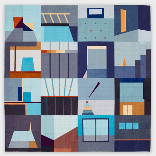 "Big Quilt #4, 55"" x 55"" by Erin Wilson"
