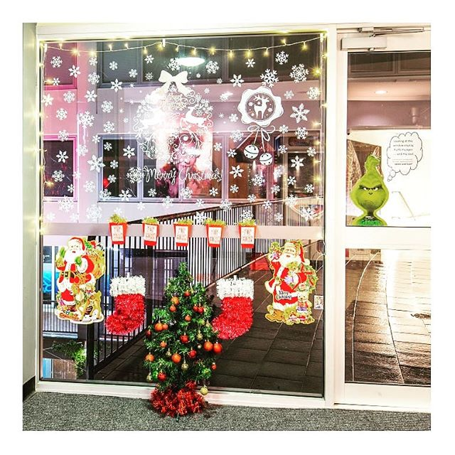 Christmas Window Competition. Entry #5 @majestic_cinemas If you love it, let us know. To go into the draw to win a $200 C-Square voucher, like it and tag a friend. T&Cs are on our post uploaded on 7th December. #christmasatcsquare