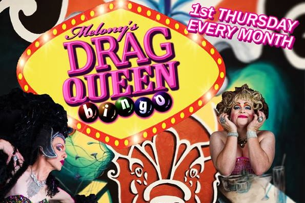 Melony's Drag Queen Bingo Nambour @ The Bison Bar — C-Square