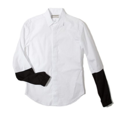 Public School color blocked poplin