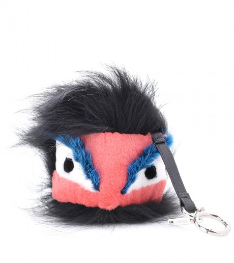 Fendi Monster Keychain
