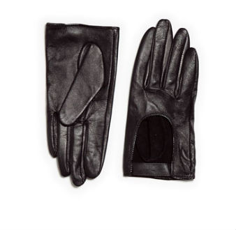 Zara Leather Gloves