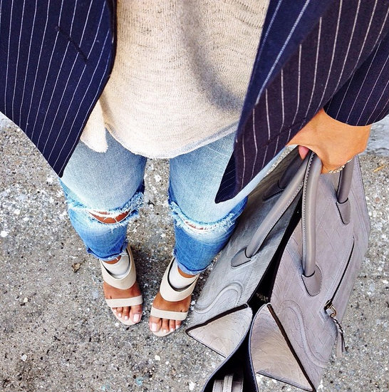 1. The #fromwhereIstand post:Do you see what I see when I look down? Point your camera towards your feet and capture parts of your top, bag, pants and most importantly your (crotch) shoes.