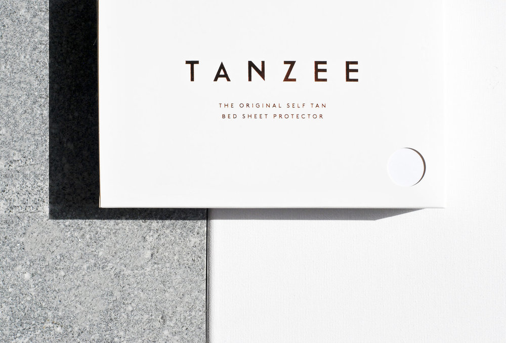 Tanzee - Branding & Packaging(Image & Design: Emily Clarke)