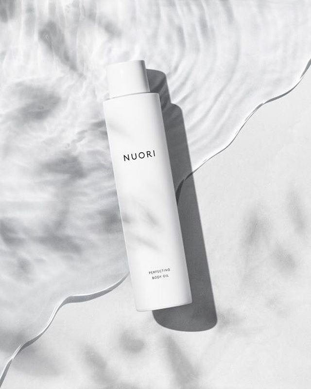One of my favourite packaging designs. Because it's so confident in what it offers inside that it doesn't need to shout it from the outside. Image: @nuoriskincare