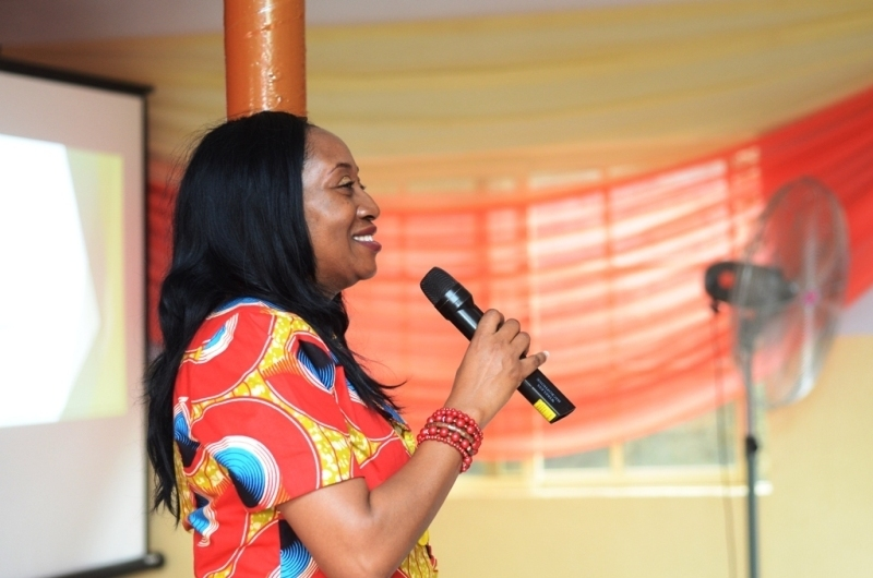 "Dr. Mrs Remi Duyile Speaking About ""THE POWER OF THE INNER YOU"""