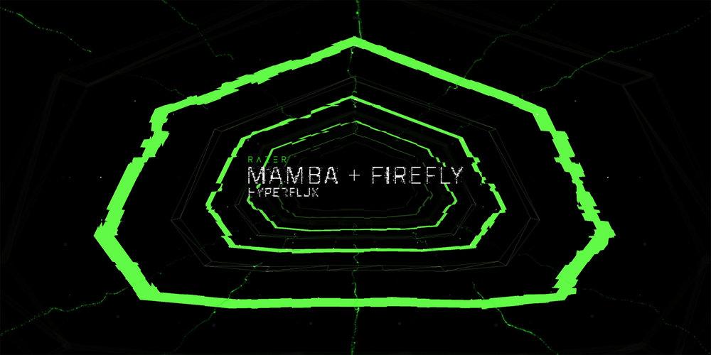 Mamba + Firefly HyperFlux  Razer