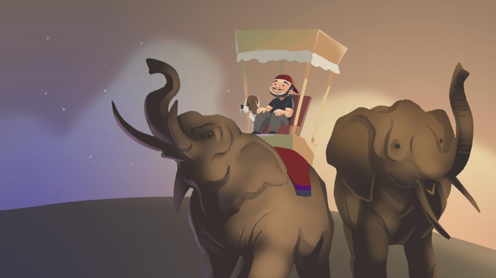 Goodbye Rohan: Father of Elephants