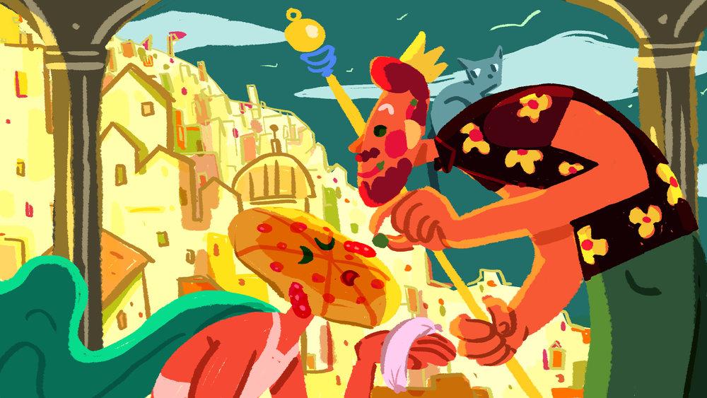 Pizza Day: Rohan's Kingdom
