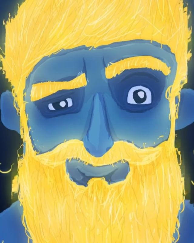 This is us saying goodbye to November. 🤨  We experimented on the new Facebook 360 feature with this hairy dude in support of #noshavenovember and #movember, so hop on over to our Facebook to have your fun! 👨🏻‍🦱 ✏️: @rohanlorenz