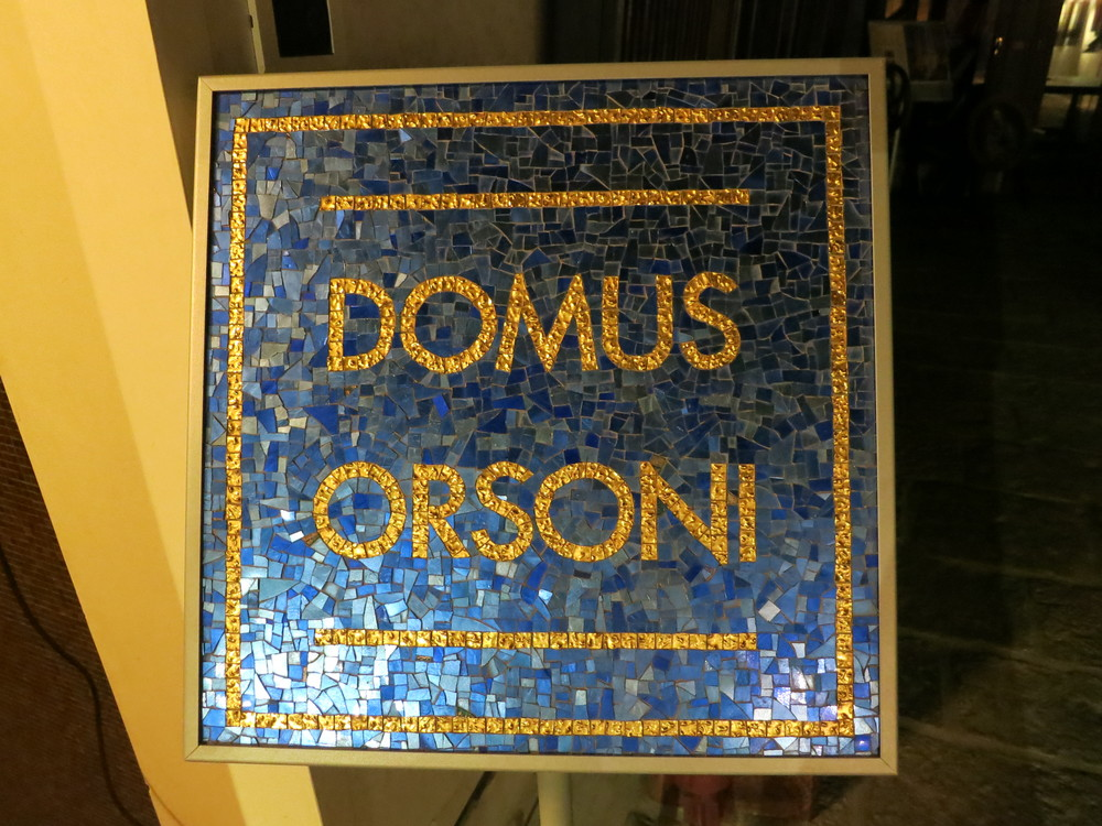 Domus Orsoni: My exquisite accommodations in Venice. Beautiful, mosaic-filled rooms overlooking the foundry, the school, and a beautiful garden!