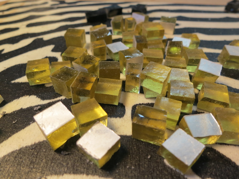 Oro Antico or Antique Gold. Authentic Orsoni gold used in mosaics of ancient times.