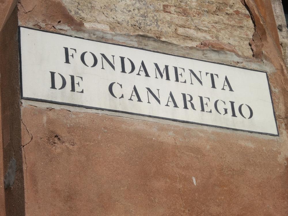 The school is a short walk from the Venezia Santa Lucia train station, along the Fondamenta de Canaregio