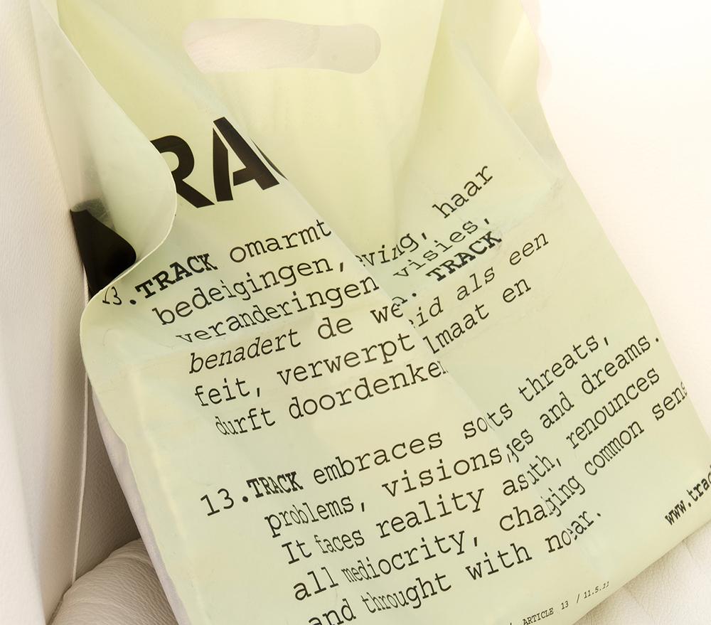 c-bags voor S.M.A.K. // bio-afbreekbaar // LDPE 70 micr bio-afbreekbaar bedrukte draagtassen