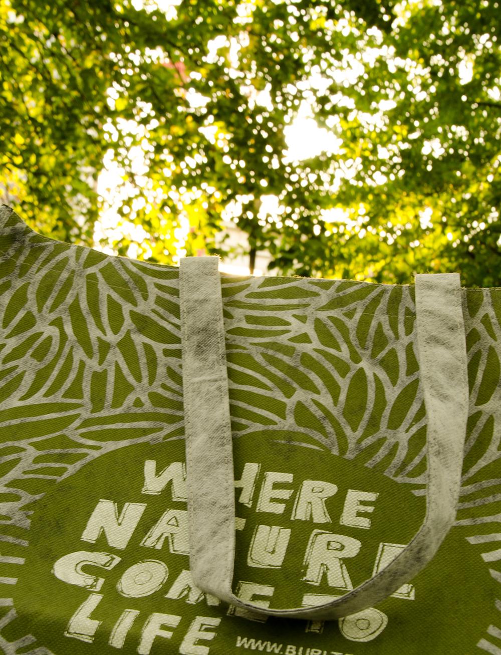 c-bags voor Burltex // single cyclus ecologische draagtassen // PP non woven bedrukte draagtassen - speciale nabehandeling // betaalbare luxe draagtassen
