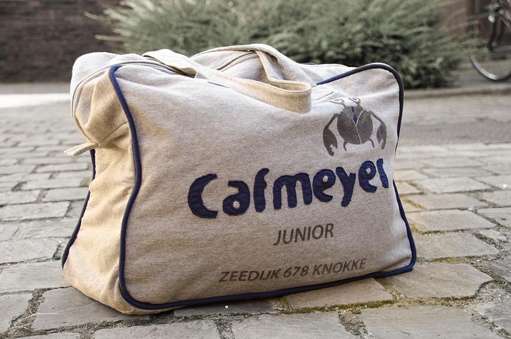 c-bags voor Cafmeyer Junior // multi cycli ecologische draagtas // katoenen bedrukte draagtassen // betaalbare luxe draagtassen