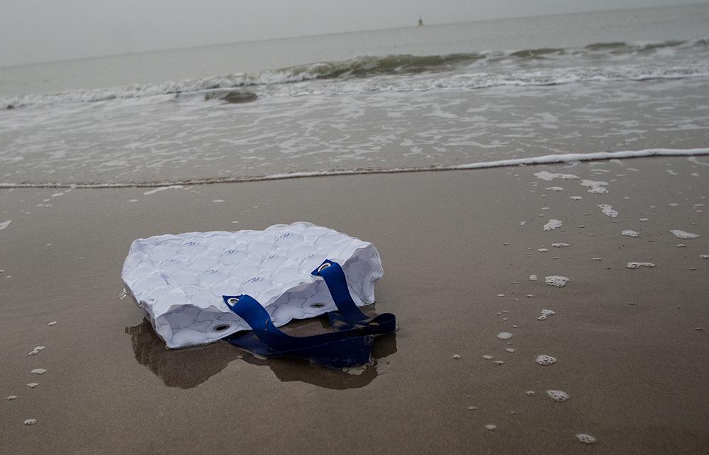 c-bags voor Please // grote herbruikbaarheid // opblaasbaar PVC bedrukte draagtassen